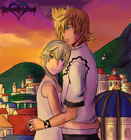 Kingdom Hearts: Dusk Approaches by Transientfox
