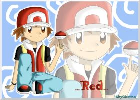 .:Red pokemon:. by SkyGiratina00
