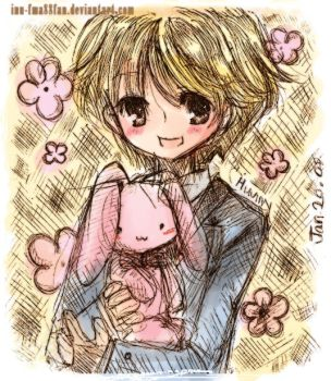 Cute senpai +ouran+ by HostClub