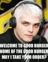 Gerard the Fast-Food Man by roflstars