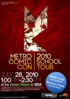 Metro Comic Con School Tour by NeverBlink
