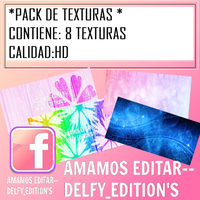 PACK DE TEXTURAS by DelfyEdition