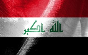 Iraq Flag by mishoworks