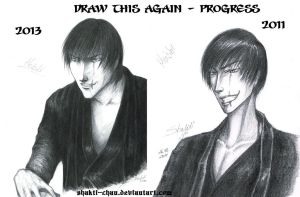 Draw this again - Heishi progress by Shakti-chan