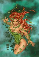Turner's Poison Ivy - Colors by StacyRaven