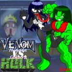 Venom Hinata Vs. The Sakura Hulk by KCruzer