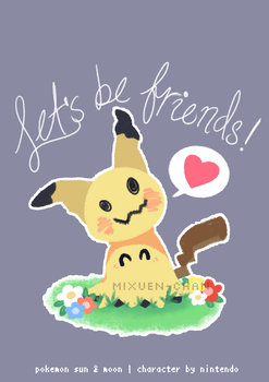 Let's Be Friends! by Mixuen-chan