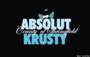ABSOLUT KRUSTY by art-e-fact