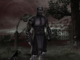 NoobSaibot_Divinity by Alistairpc