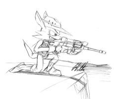 Fang the Sniper by prdarkfox