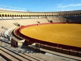 Seville Bull Fight Festival 09 by abelamario