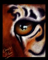 as a tiger by al-roo7