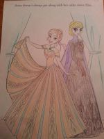 Coloring With My Daughter by GreenDayAngel