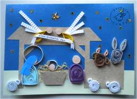 Quilling - card 114 by Eti-chan