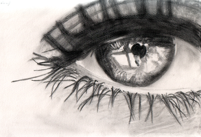 Sad Eye by SalmaAshraf