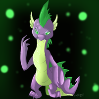 Spike by ROXDragonz
