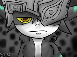 Midna is tired of your bull by Mew-tew