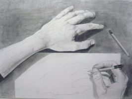 Portrait Of My Hands by loaded88