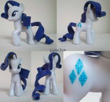 Sculpted mane Rarity by TwitchyGears
