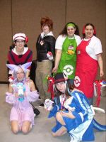 Pokemon cosplay group by Xotri