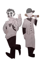Zacharie and The Batter - OFF by tt414