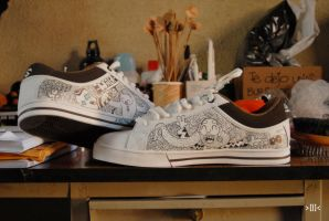 design to wear mis tenis by Hopeazul