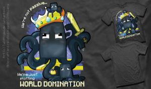 Rejected Minecraft T-Shirt Entry - Squid Army by TwilitAngel