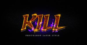 Photoshop Layer Style Psd by Industrykidz