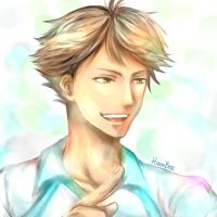 Oikawa Tooru - Haikyuu!! by Hana--bee
