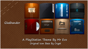 Gladhander PS3 Theme by Mr-Evo