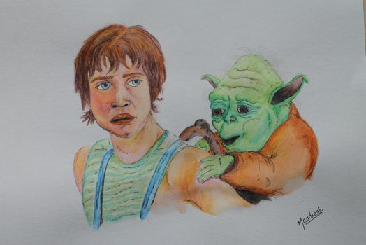 Back to Dagobah by Maudpx