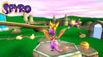 Spyro the Dragon: Game screen by ZOomERart
