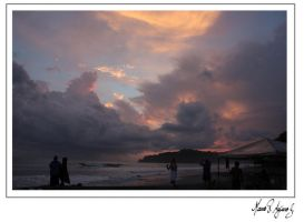 Manuel Antonio Sunset by mvaguero
