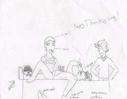Happy Thanksgiving Buuuuurp by NightRoseX1