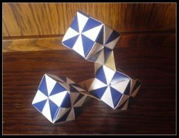 Pinwheel cubes by lonely--soldier