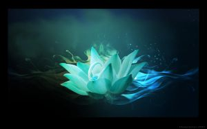 Blue Lotus by shygirlxoxo