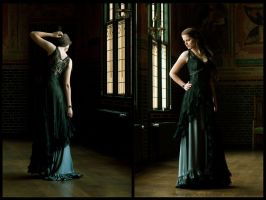 Dress Sepiolite dark, Somnia Romantica by M. Turin by SomniaRomantica