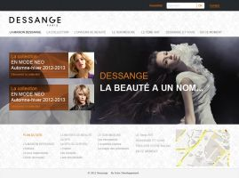 Template Dessange by berbeche