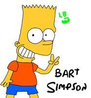 Bart Simpson by LuigiBroZ