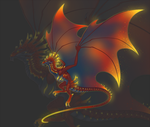 Ember Wyvern by DelusionalPuffball