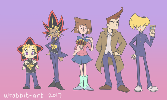 What If YuGiOh was a Cartoon? by thewrabbithole