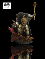 Horus Lupercal Warmaster of Horus by lilloser40K