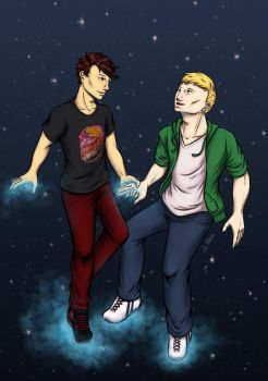 I'd make the stars shine for you (Young Avengers) by tildemo