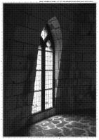 Screentone old window 2 by bakenekogirl