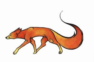Japanese copic fox by FrenchTrotter