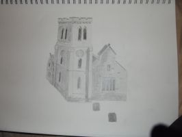 Life Drawing of a Church by PaulDS89