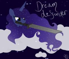 Luna the all powerful dream defender by Balloons504