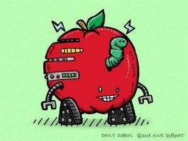 Apple Bot by nickv47