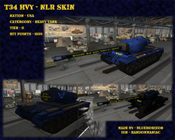 T34 Heavy - NLR Skin by Ask-BlueHorizon