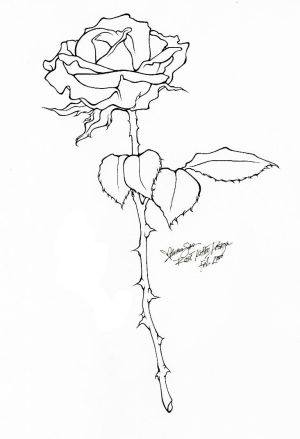 Flower Rose Tattoo Designs Picture 4